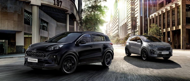 A Kia bemutatja a Sportage Black Edition-t