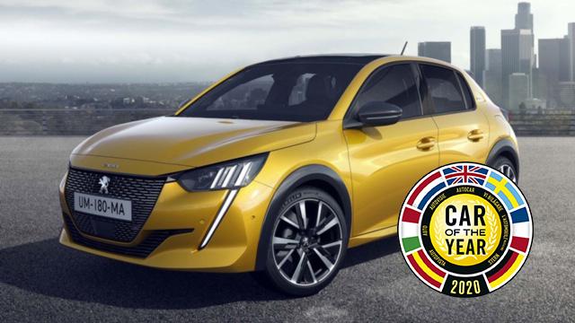 Az új Peugeot 208 nyerte az Év Autója díjat 2020-ban