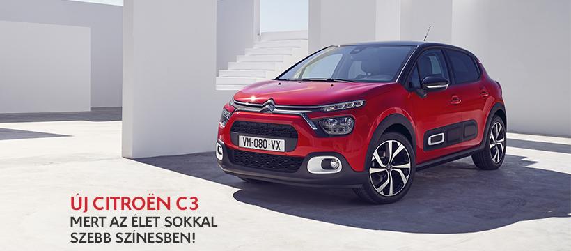 Még színesebb egyéniség, még nagyobb kényelem – Az új Citroën C3