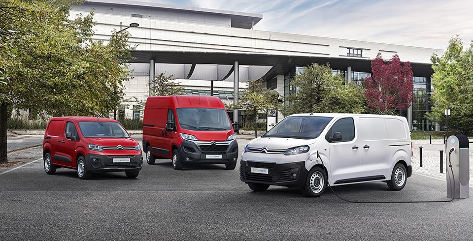 Nagyszabású elektromos offenzíva a Citroën haszongépjármű-kínálatában