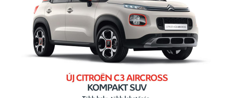 CITROEN C3 AIRCROSS SUV – AKCIÓS AJÁNLAT