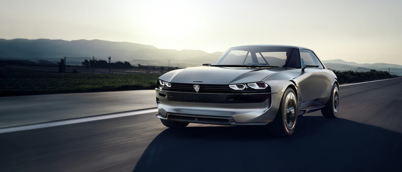 Peugeot e-Legend Concept tanulmány