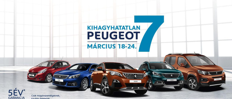 Peugeot Kihagyhatatlan 7