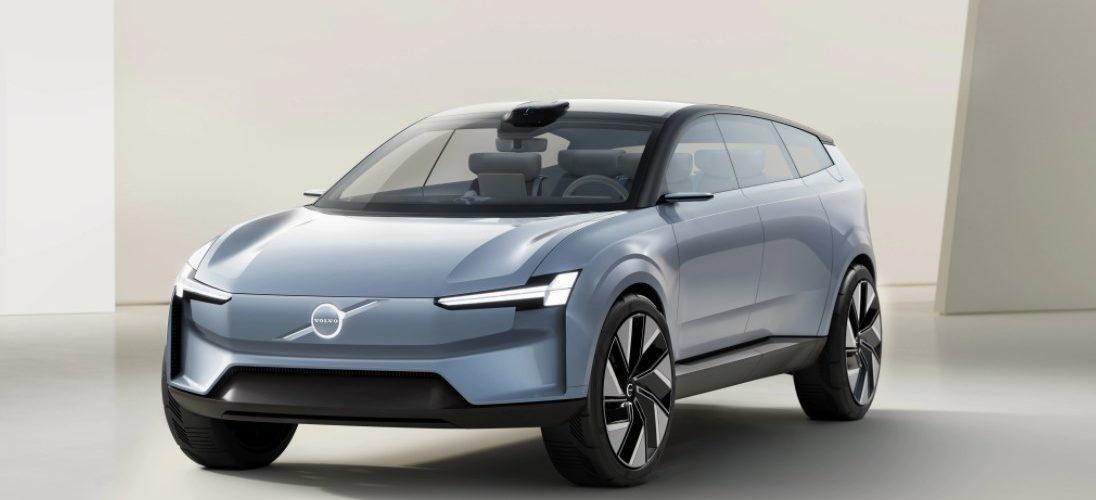A Volvo Concept Recharge a Volvo Cars tisztán elektromos jövőképének kiáltványa